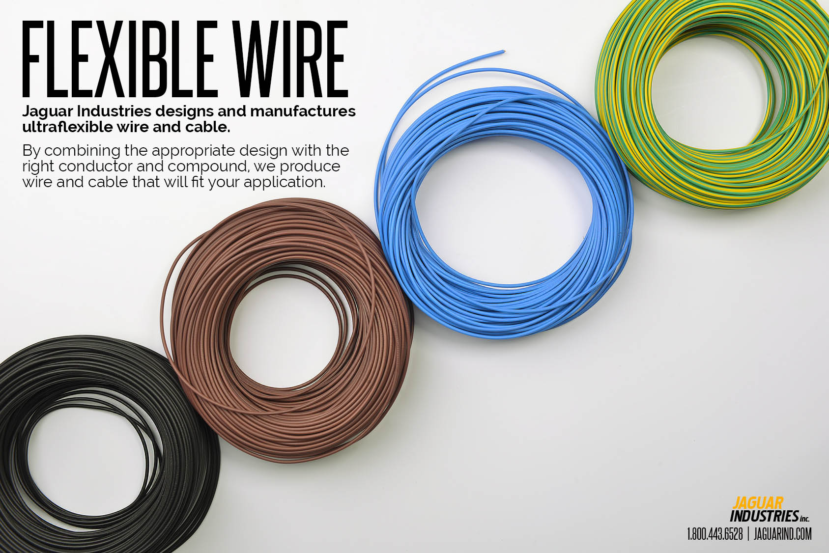 Flexible Miniature Wire - Jaguar Industries